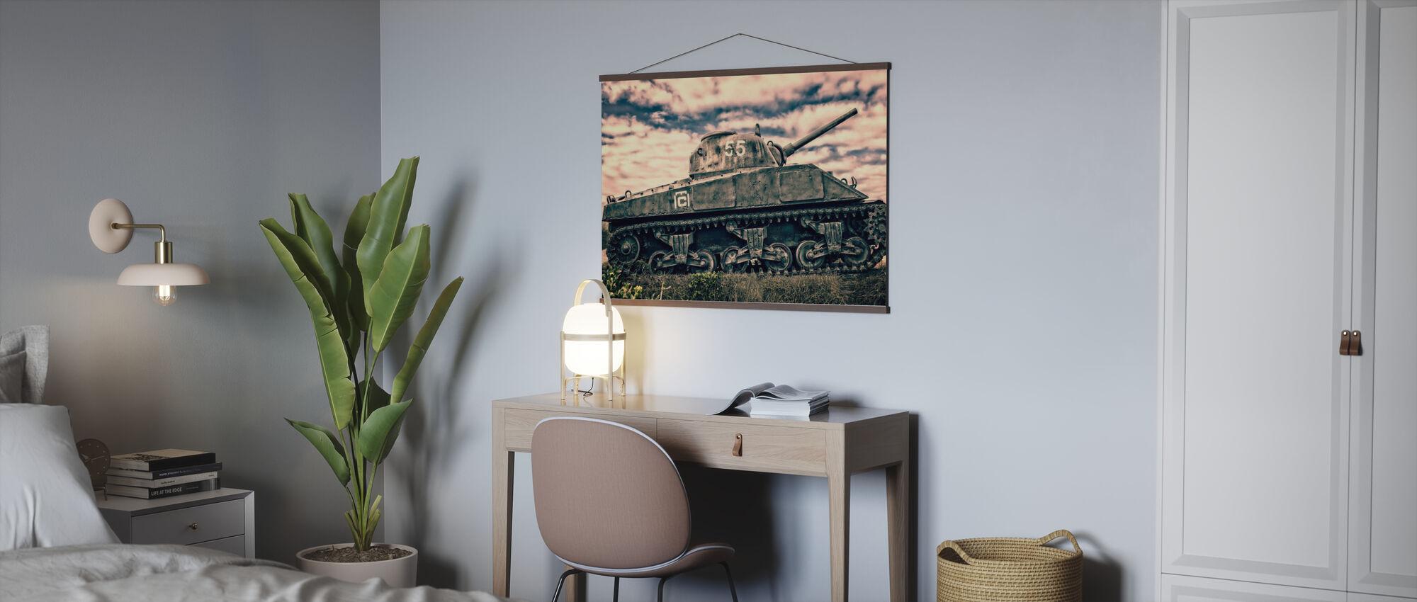 War Tank - Poster - Kantoor
