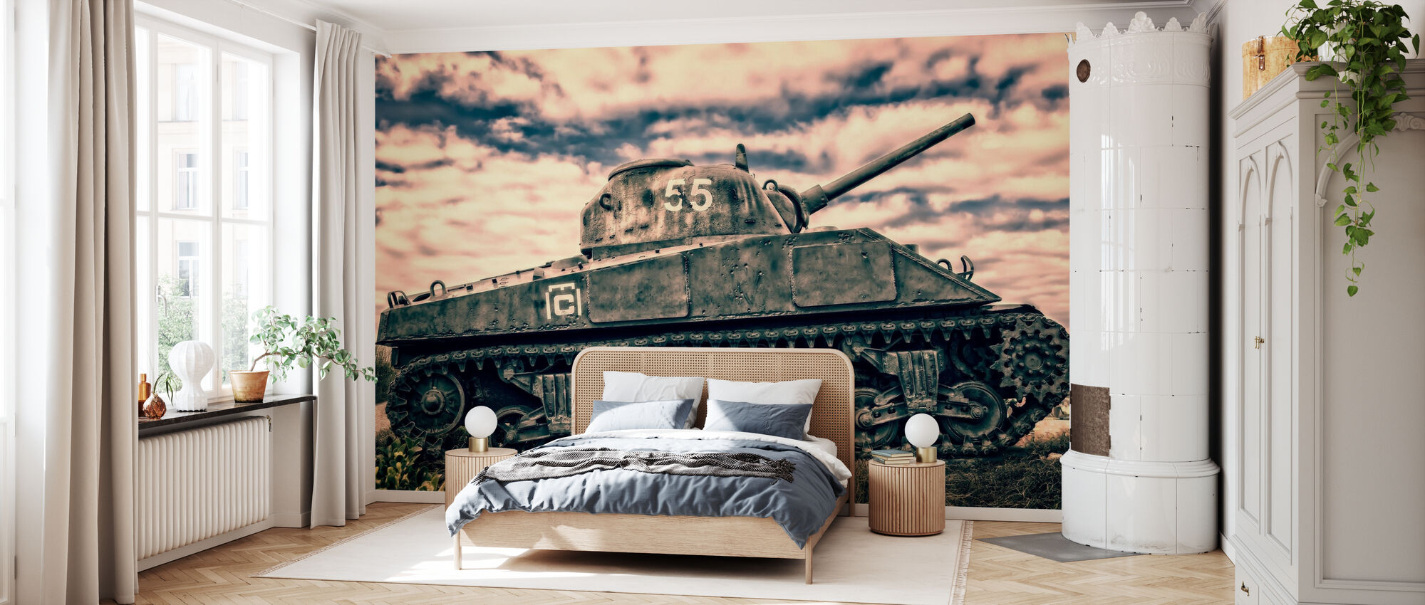 War Tank - Tapet - Soverom