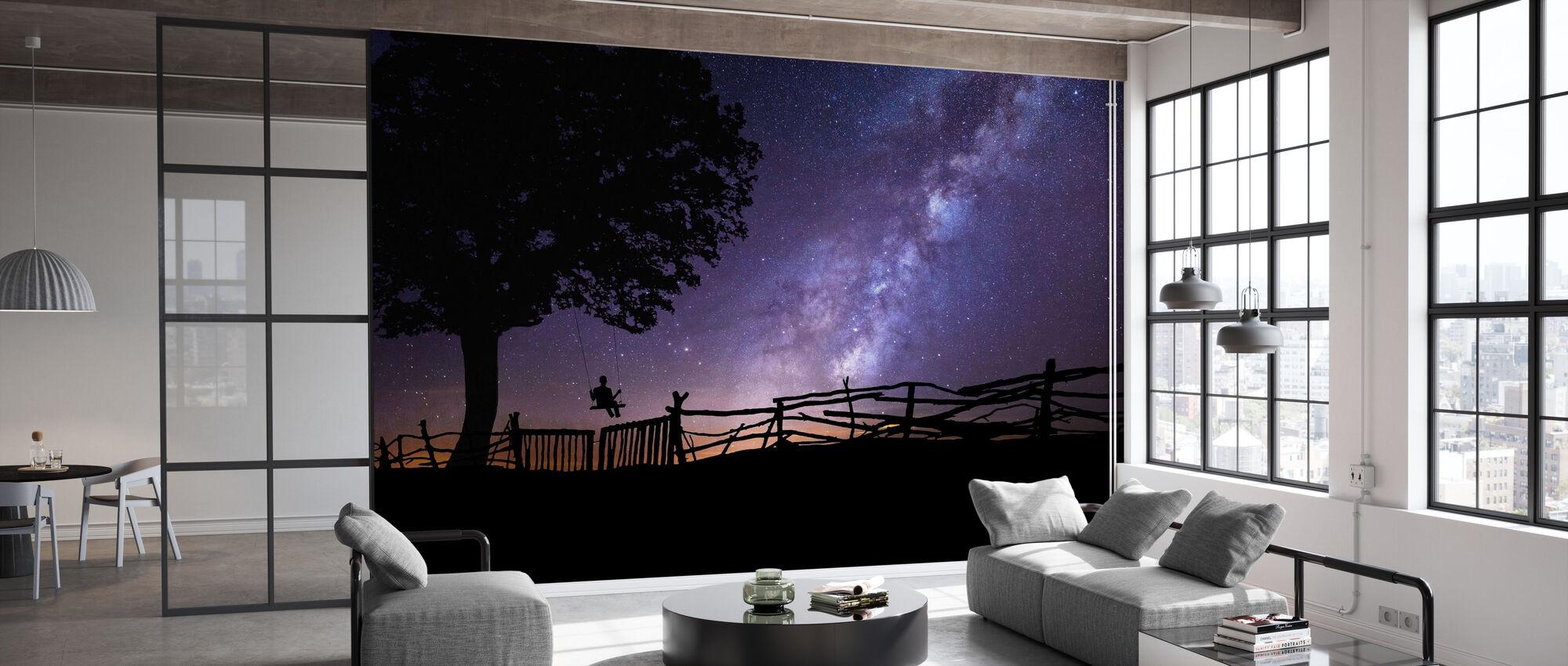 Stjernehimmel - Tapet - Kontor