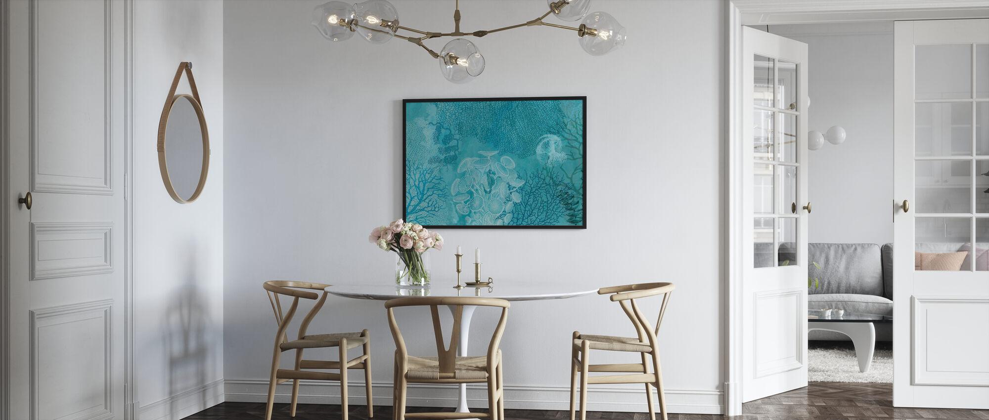 Blue Sea Water - Poster - Kitchen