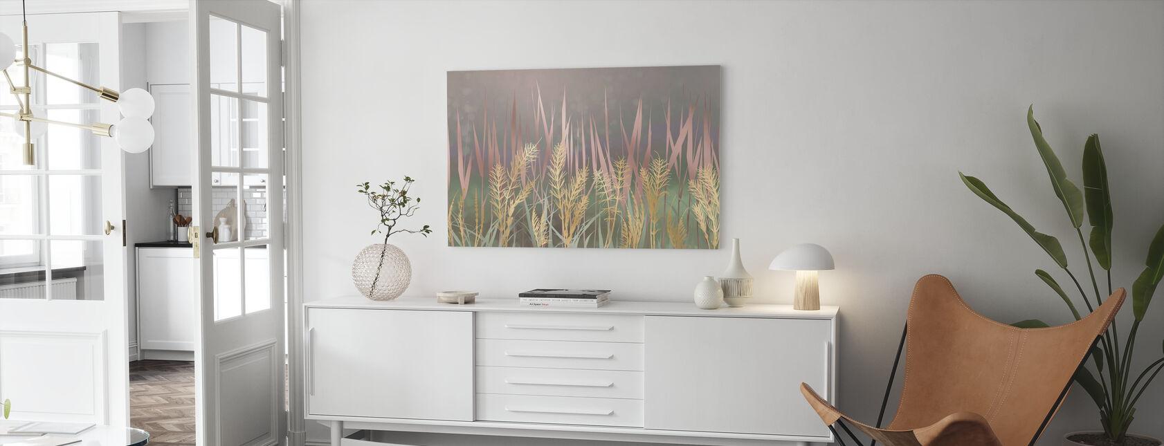 Aufhellendes Gras II - Leinwandbild - Wohnzimmer