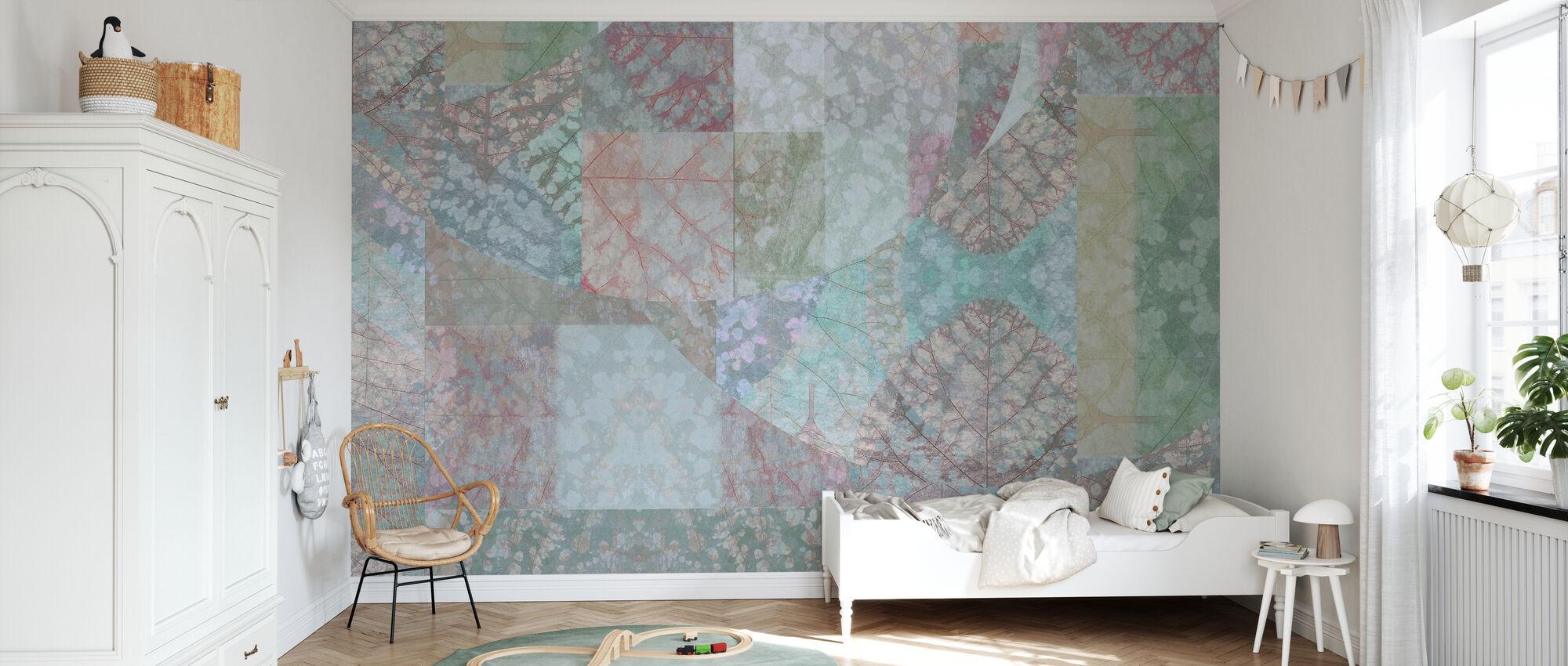 Leaf Model II - Wallpaper - Kids Room