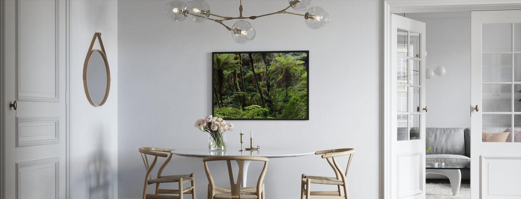 Wolkenbos - Ingelijste print - Keuken