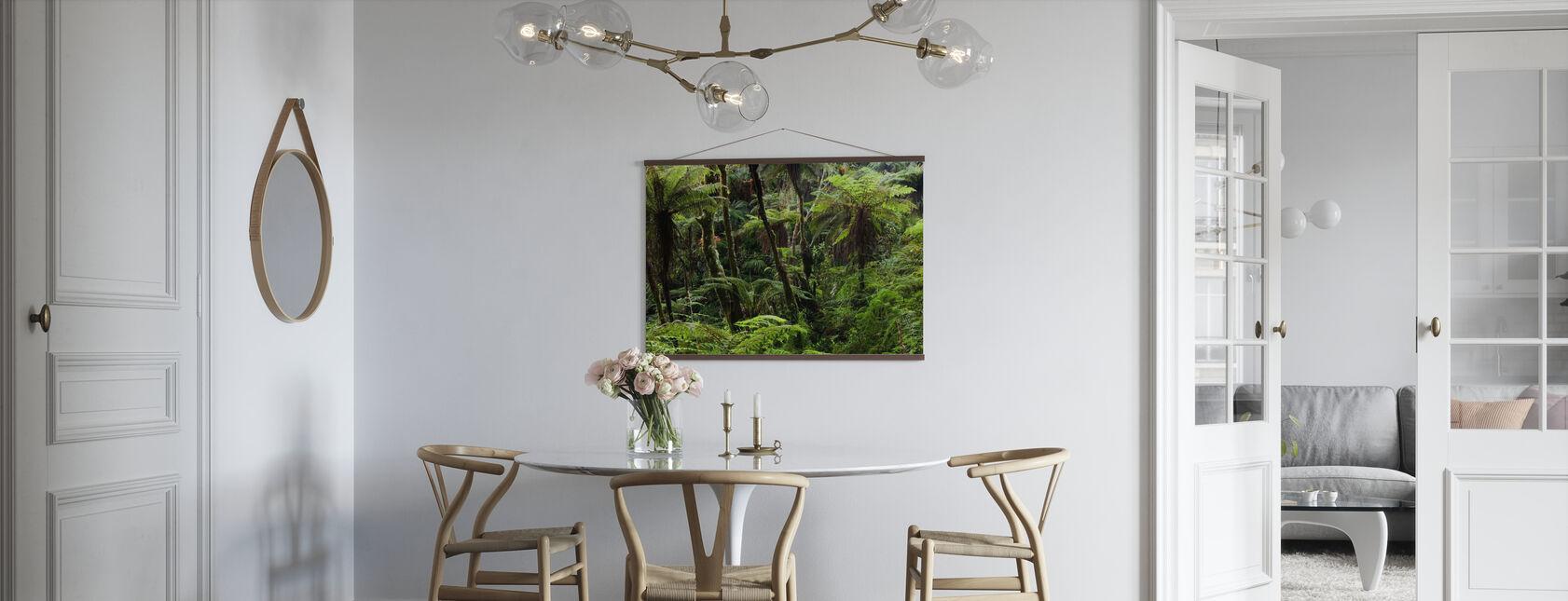 Forêt nuageuse - Affiche - Cuisine