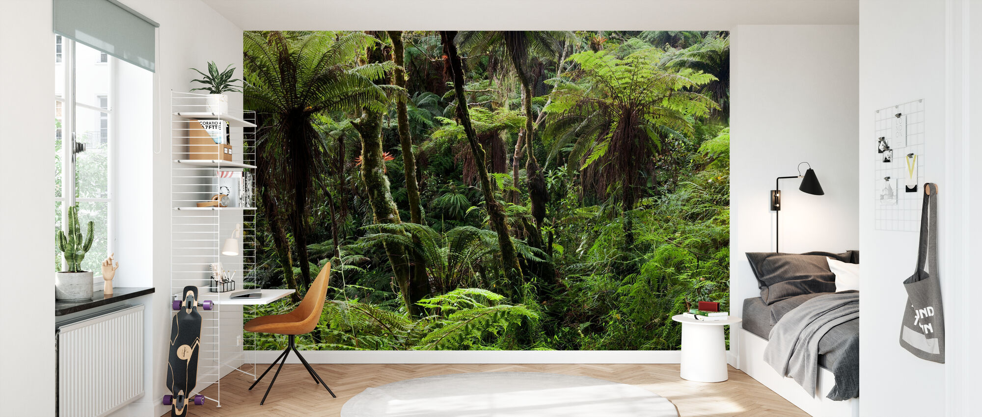 Cloud Forest - Wallpaper - Kids Room