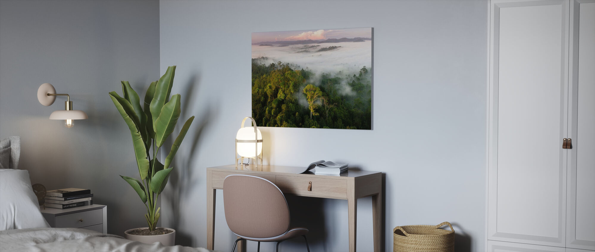 Lowland Rainforest Mist - Canvas print - Office