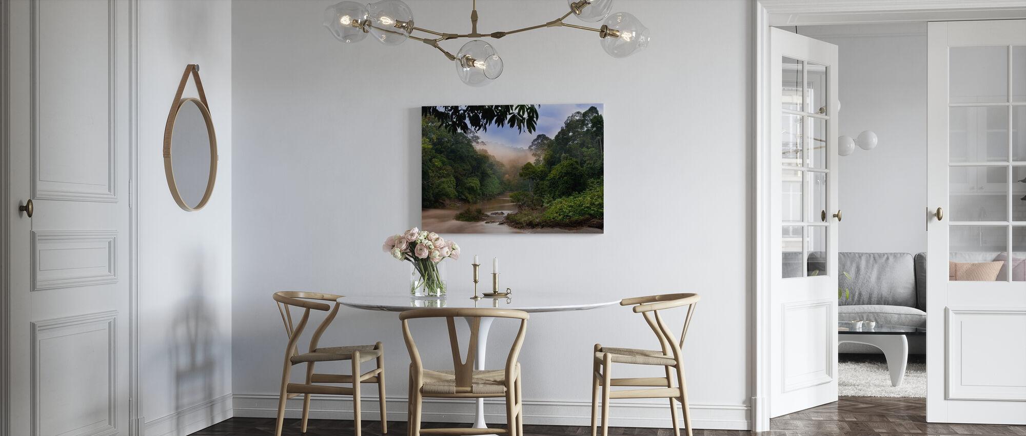 Segama River and Rainforest - Canvas print - Kitchen