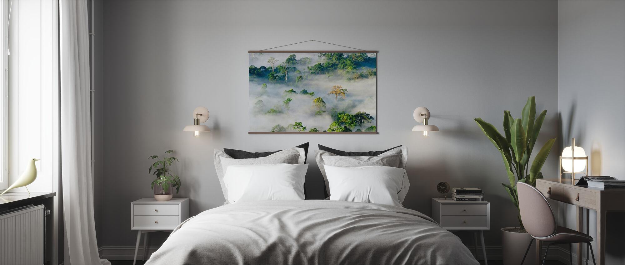 Tiefland Dipterocarp Regenwald - Poster - Schlafzimmer