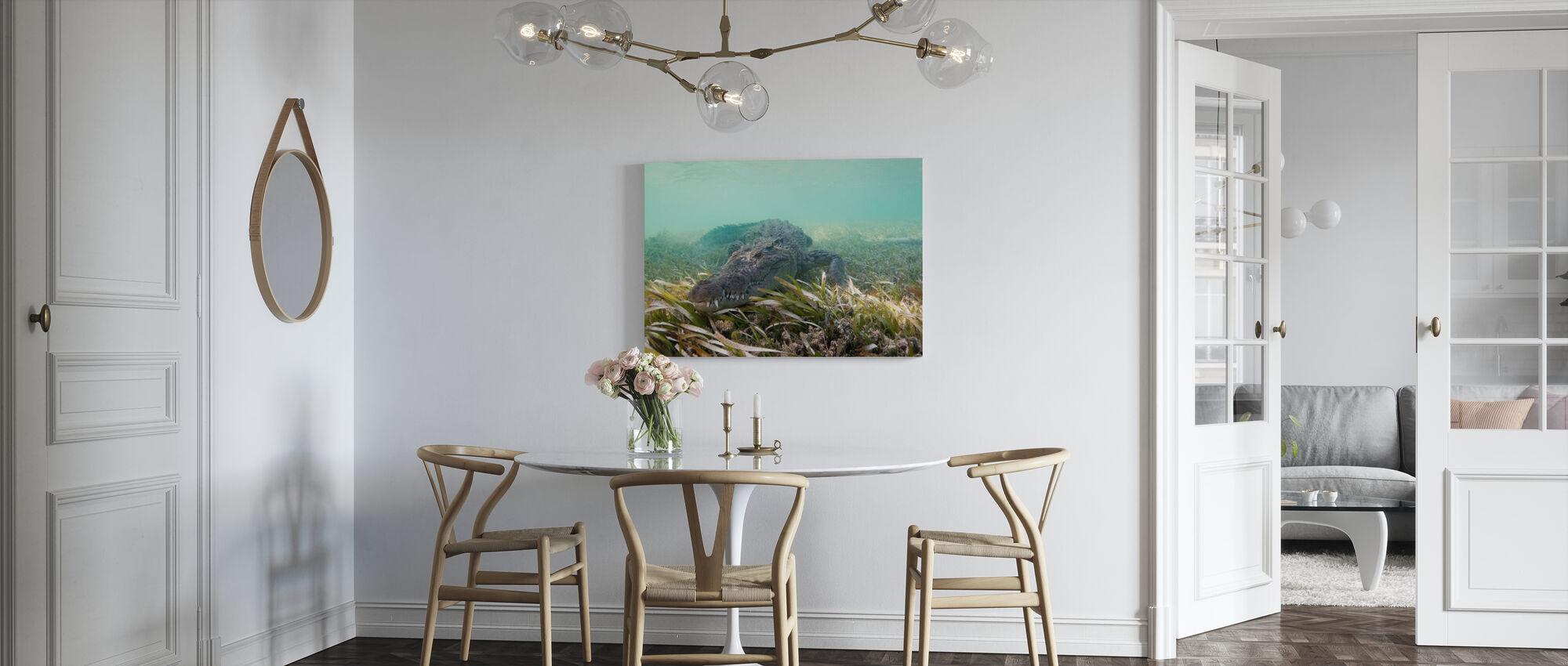American Crocodile - Canvas print - Kitchen