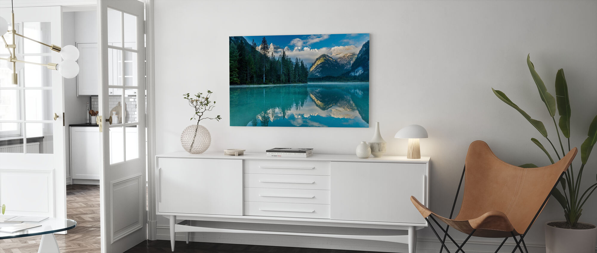 Lake Landro - Canvas print - Living Room