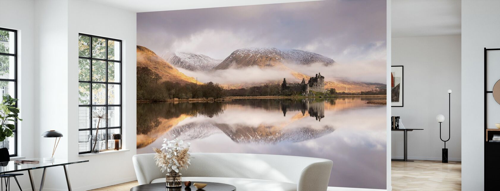 Kilchurn Castle - Wallpaper - Living Room