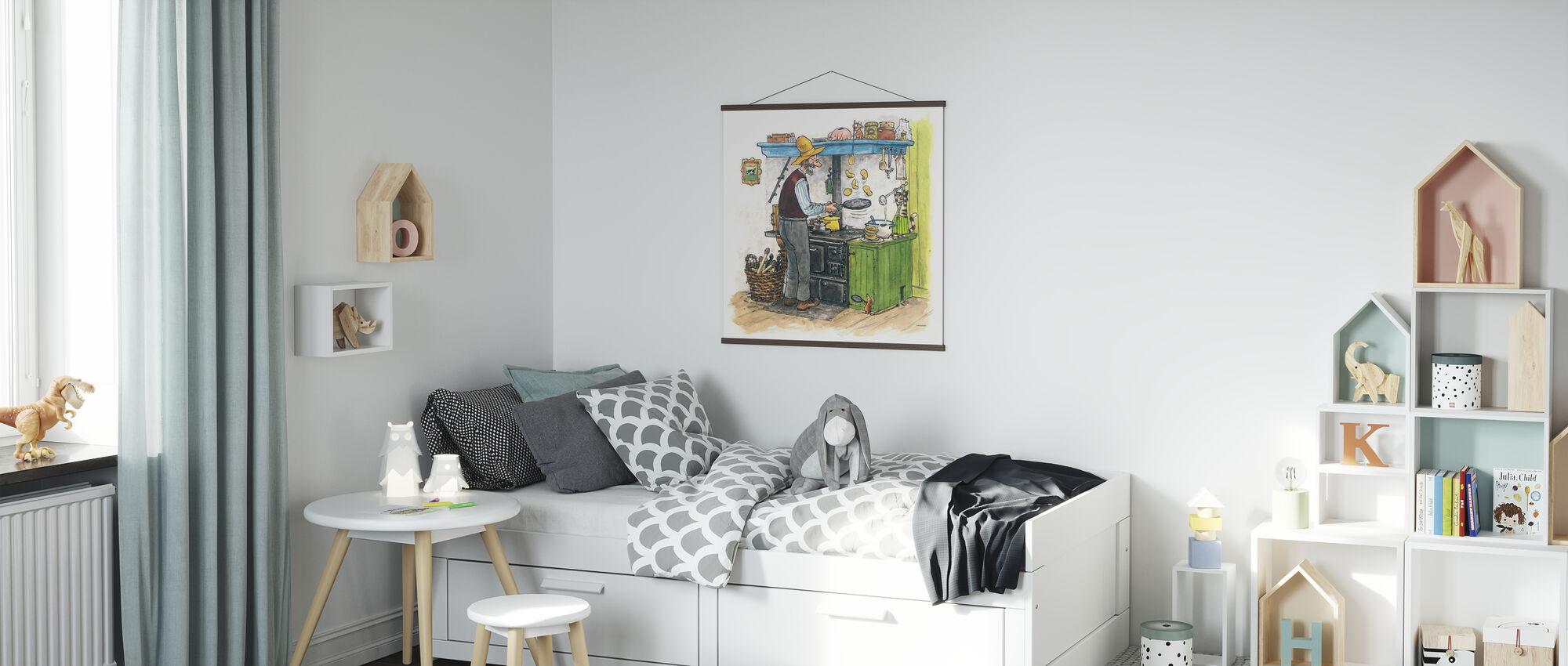 Findus si allontana - Poster - Camera dei bambini