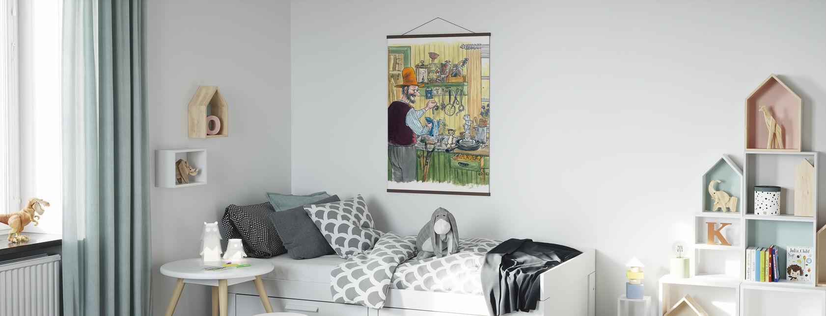 When Findus was little - Poster - Kids Room