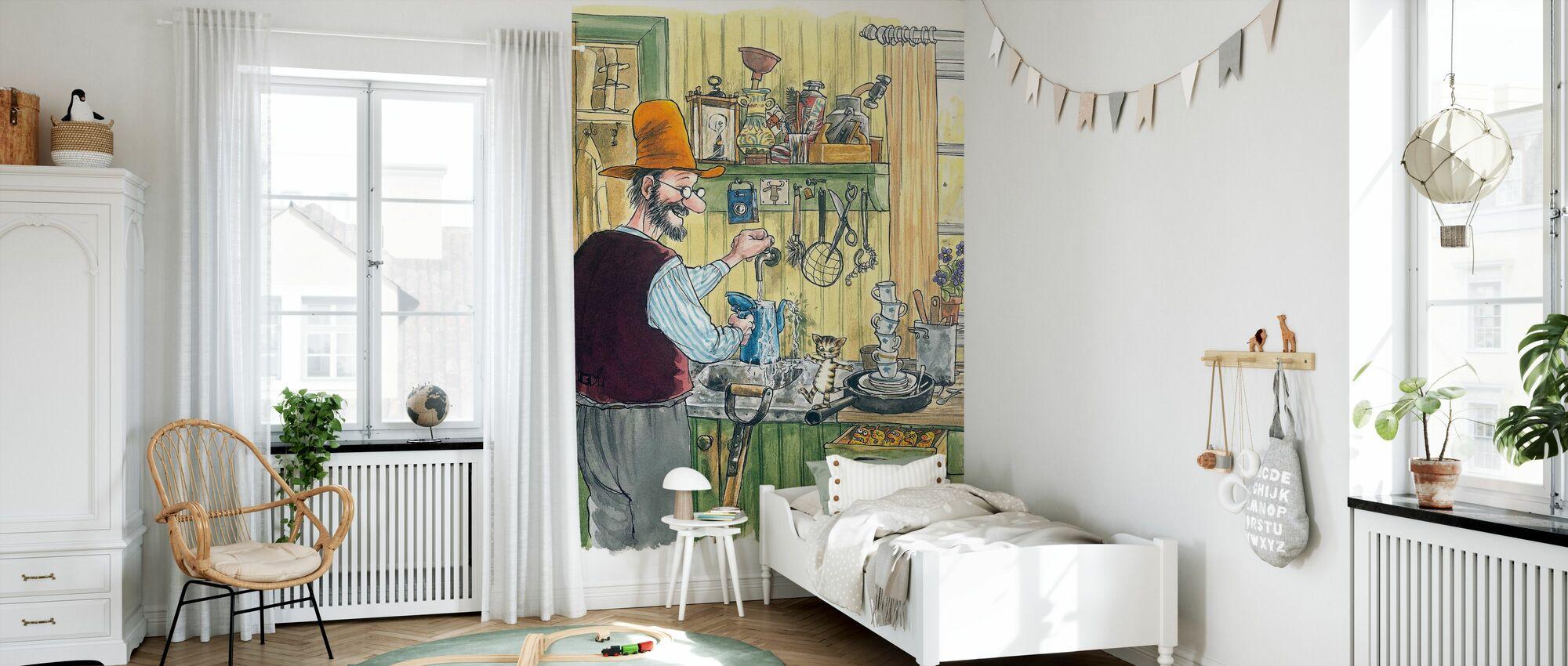 When Findus was little - Wallpaper - Kids Room