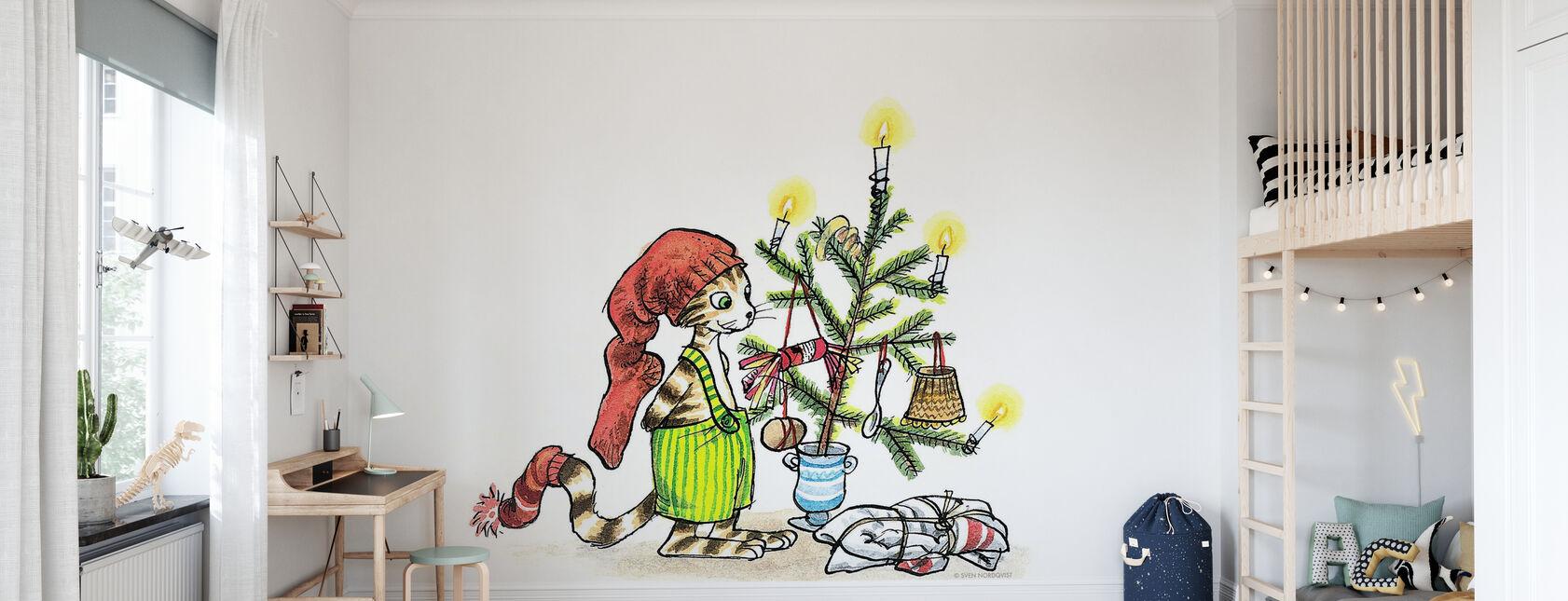Pettson gets Christmas visits - Wallpaper - Kids Room