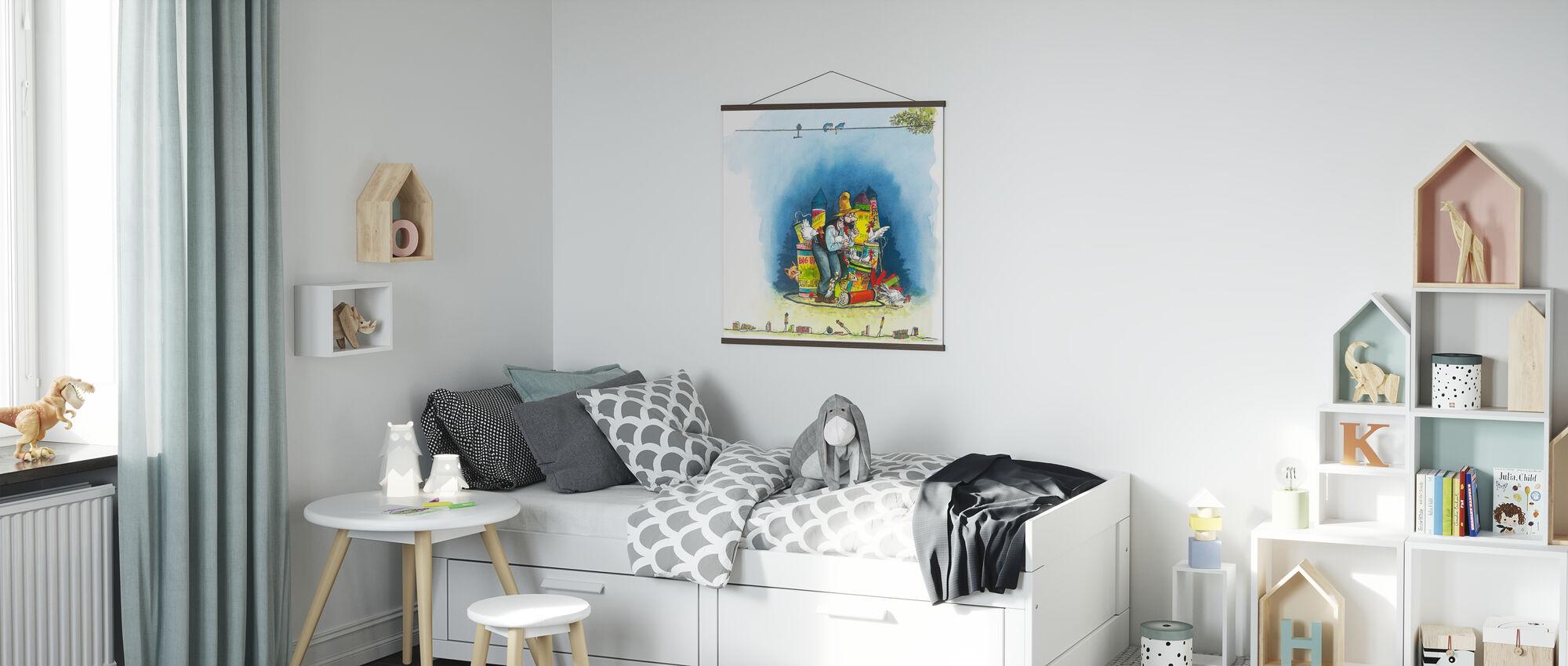 The fox hunt - Poster - Kids Room