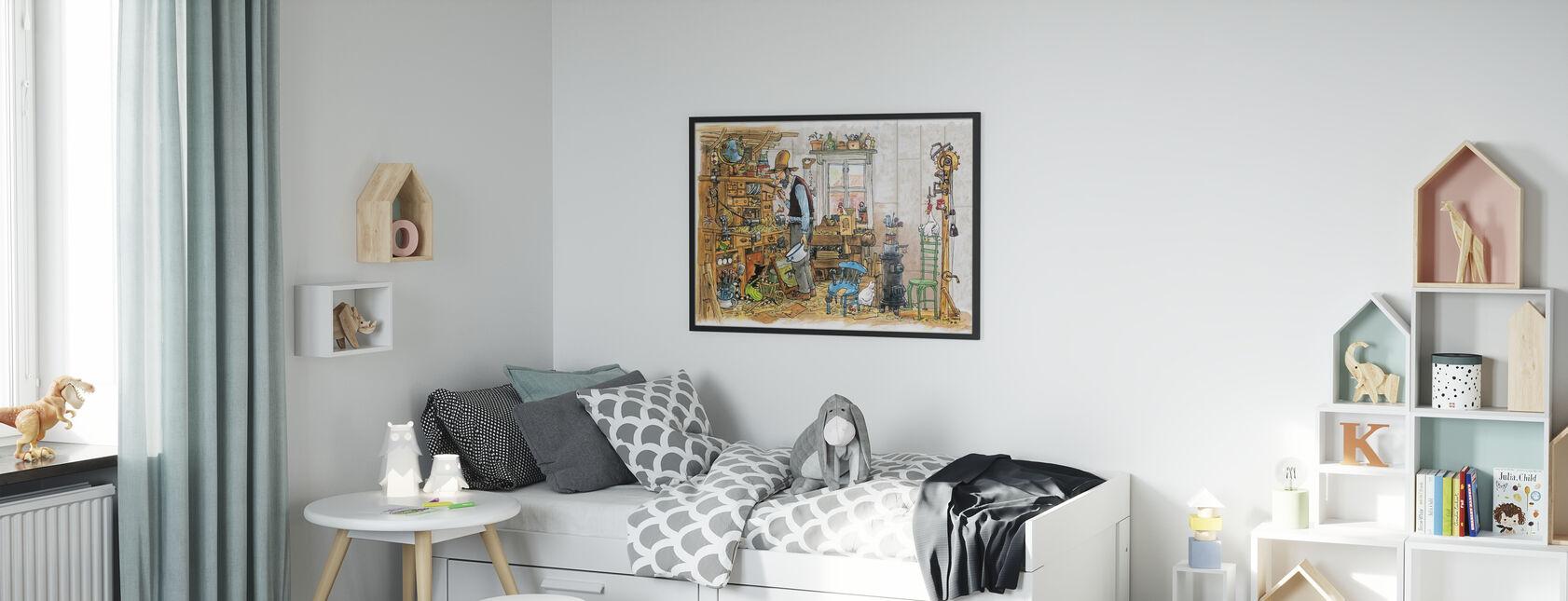 De timmerman - Poster - Kinderkamer
