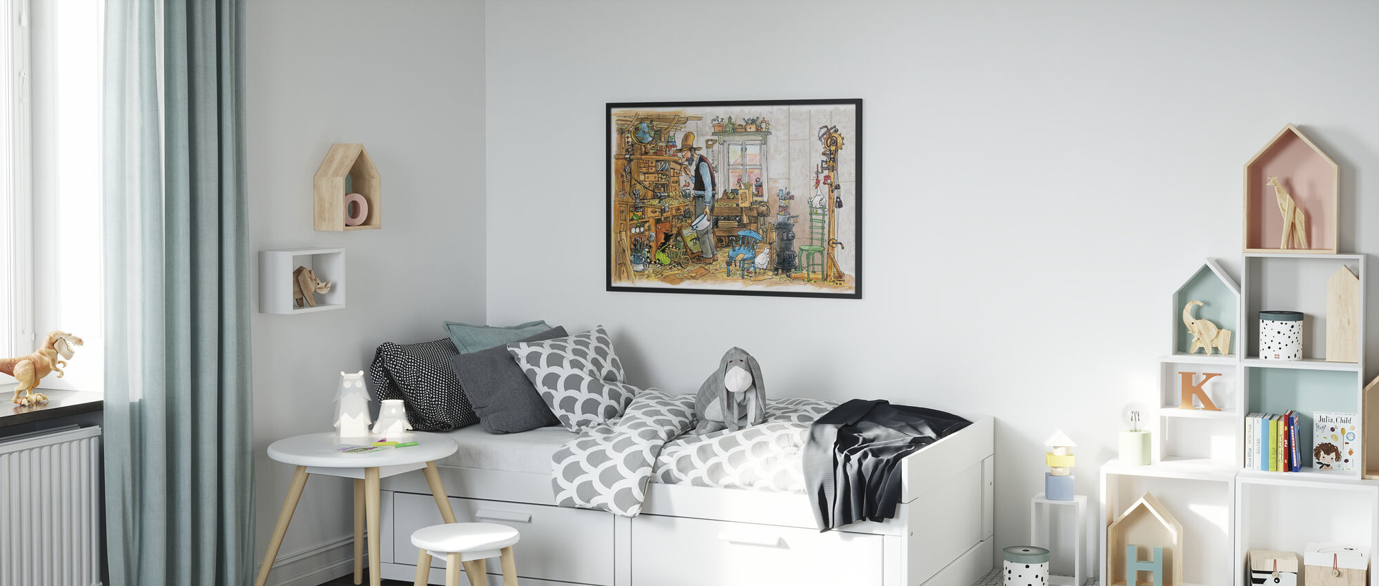 The carpenter - Poster - Kids Room