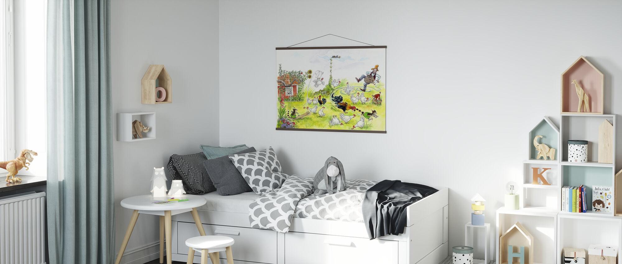 Minute des Hahns - Poster - Kinderzimmer