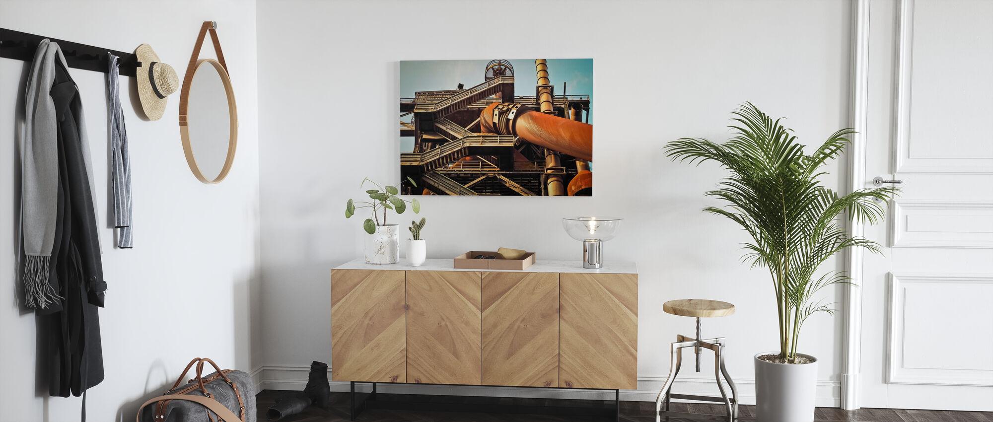 Blast Furnace - Canvas print - Hallway