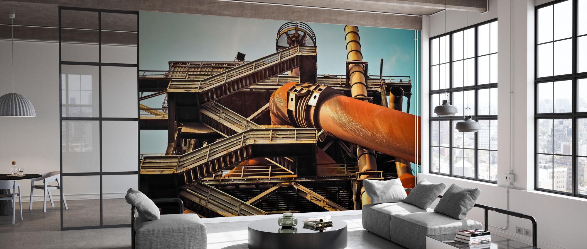 Blast Furnace - Wallpaper - Office
