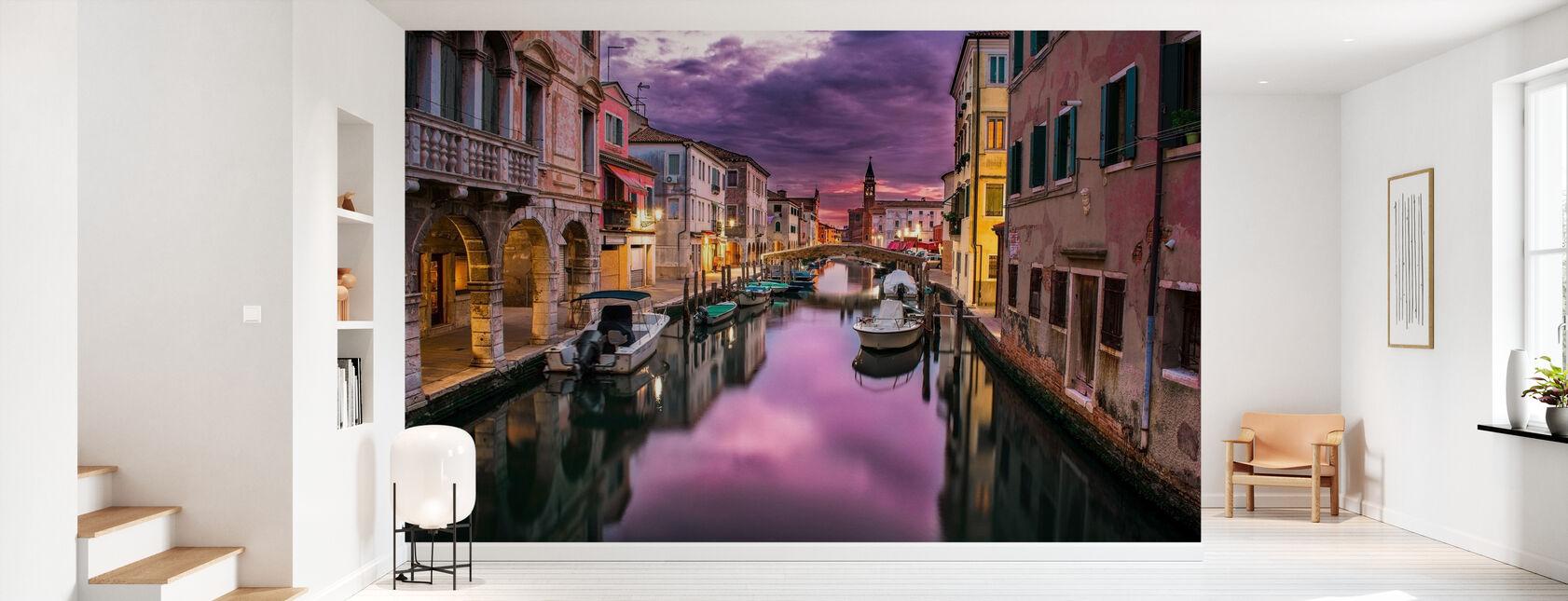 Kanaal in Venetië - Behang - Gang