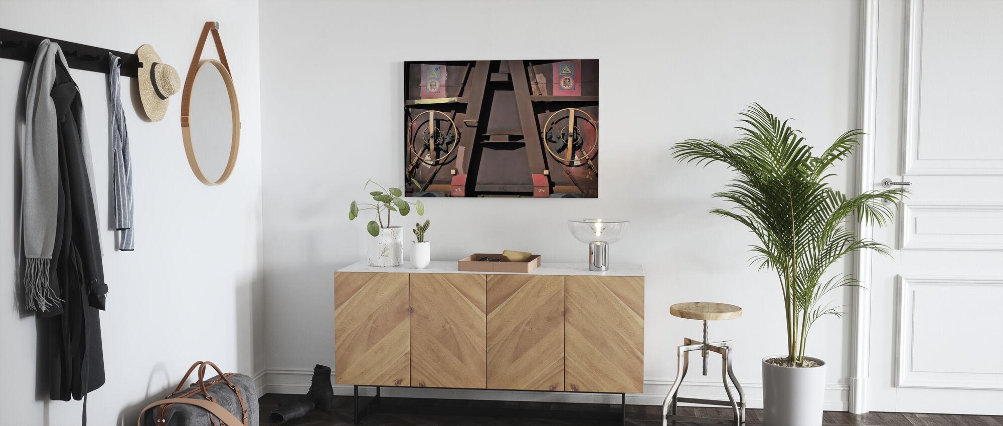 Goods Wagon - Canvas print - Hallway