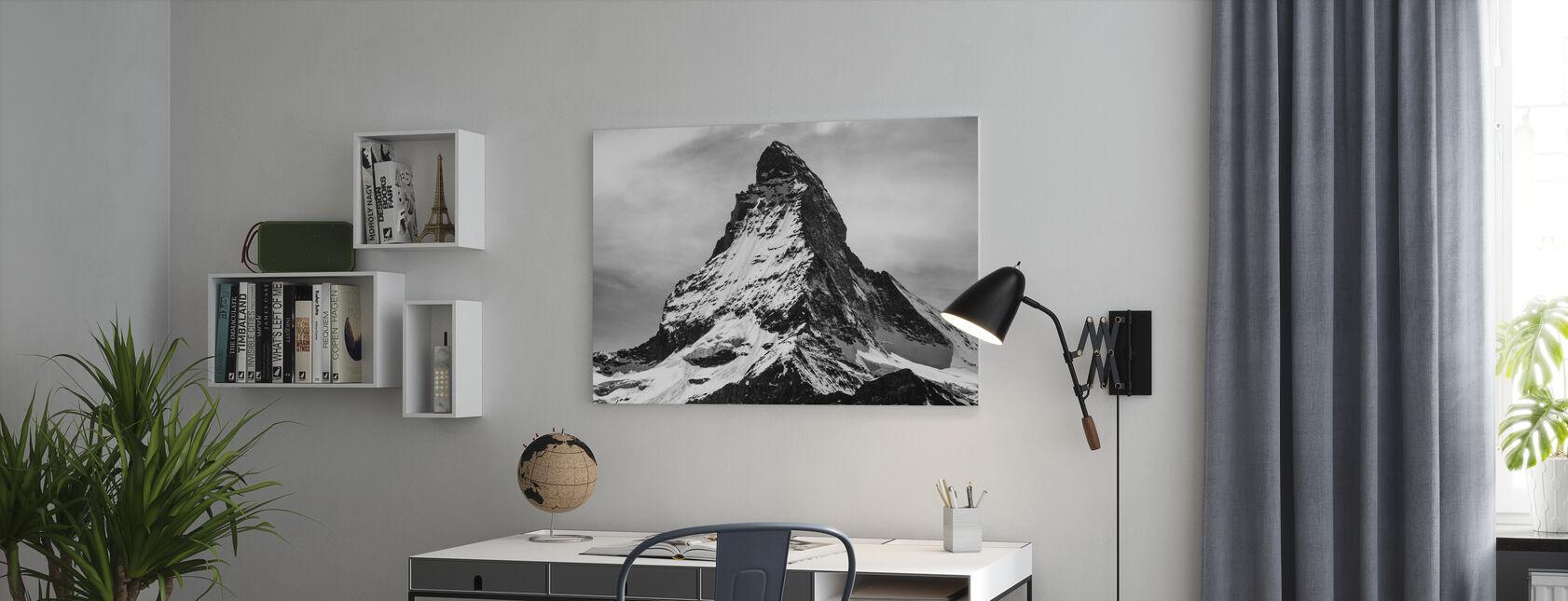 Mountain Top - Canvas print - Office