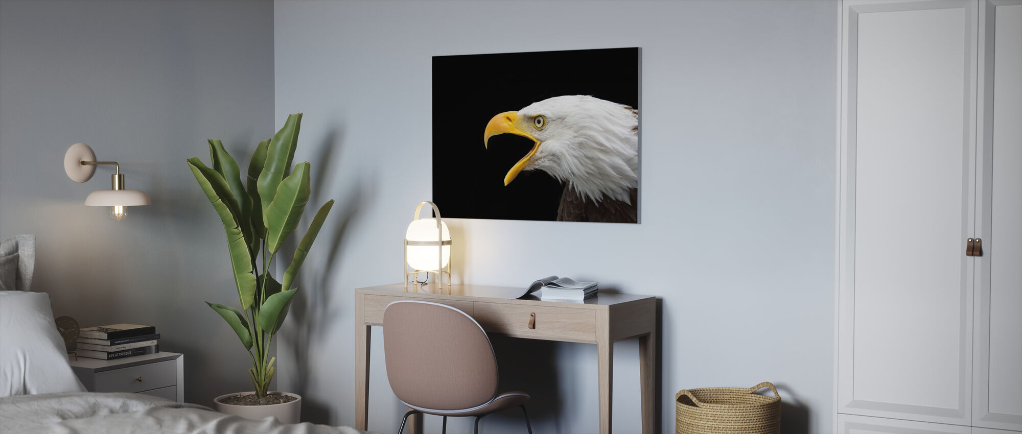 Kale Adelaar - Canvas print - Kantoor