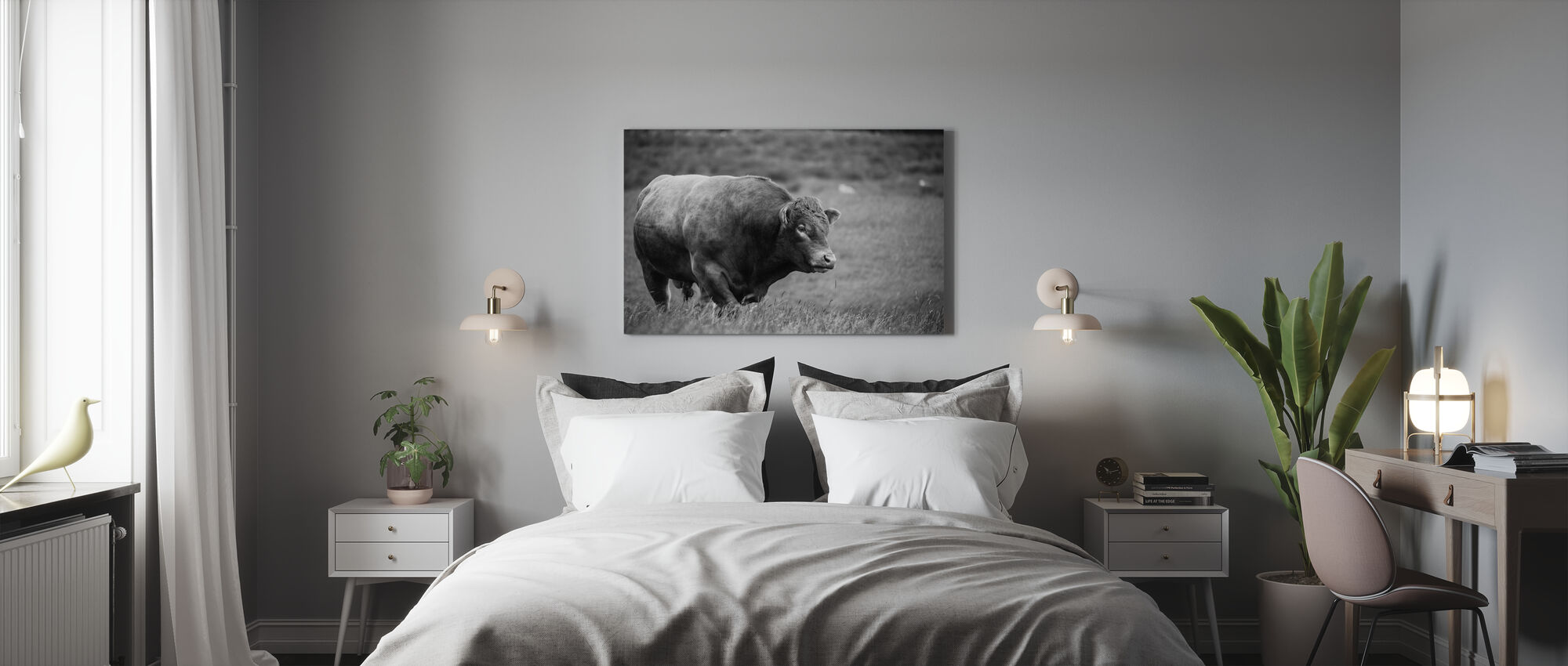 The Bull - Canvas print - Bedroom