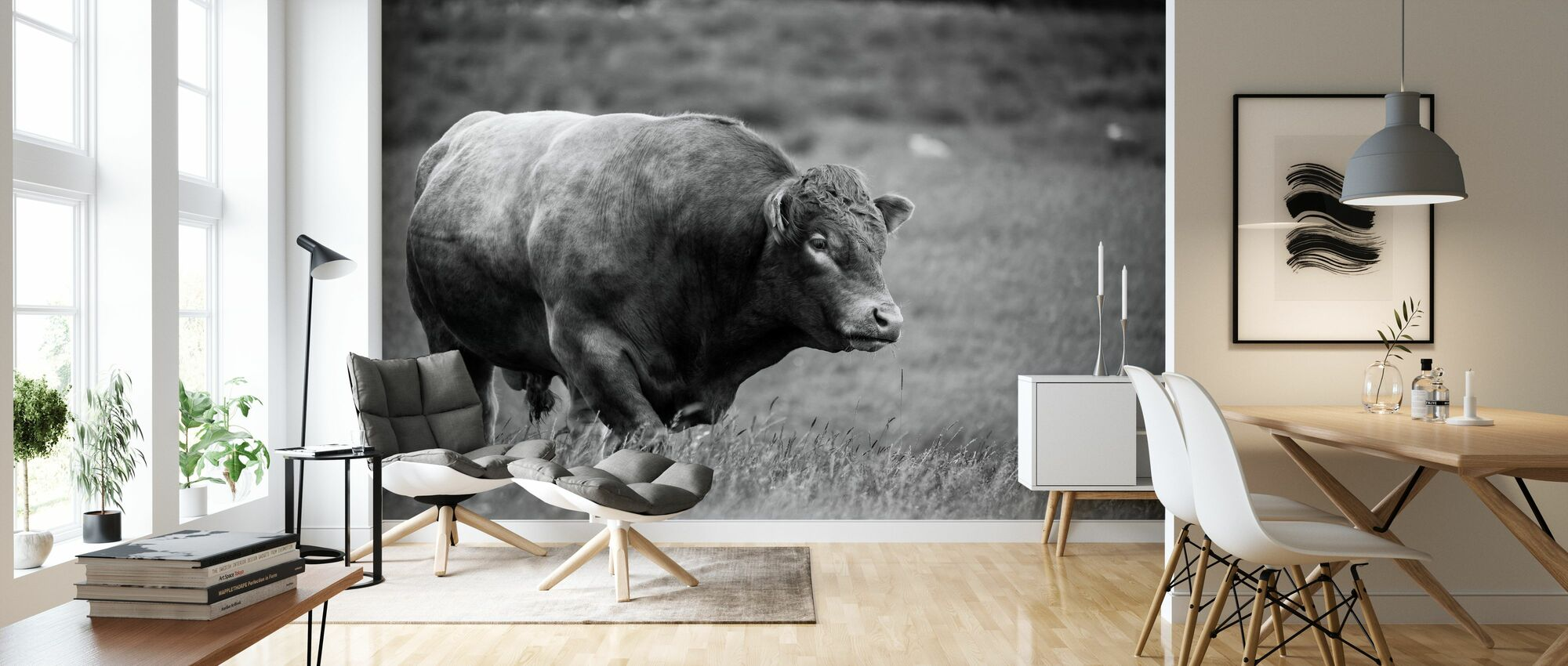 The Bull - Wallpaper - Living Room