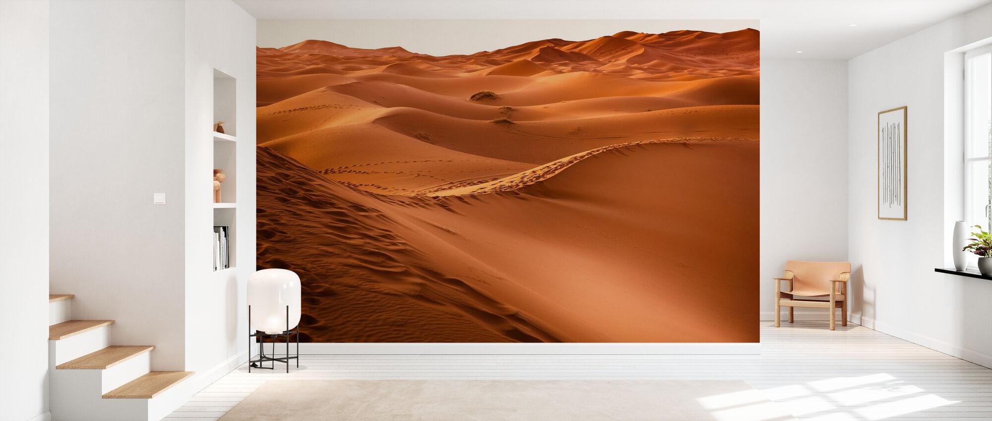 Desert Sand Foot Utskrifter - Tapet - Gang