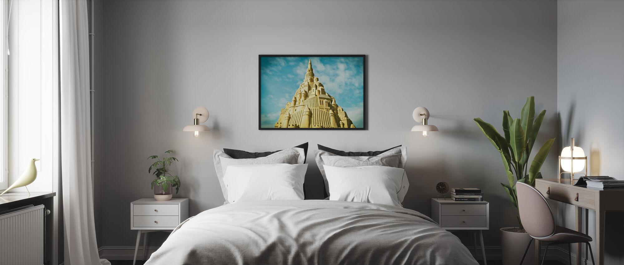 Sand Sculpture - Framed print - Bedroom