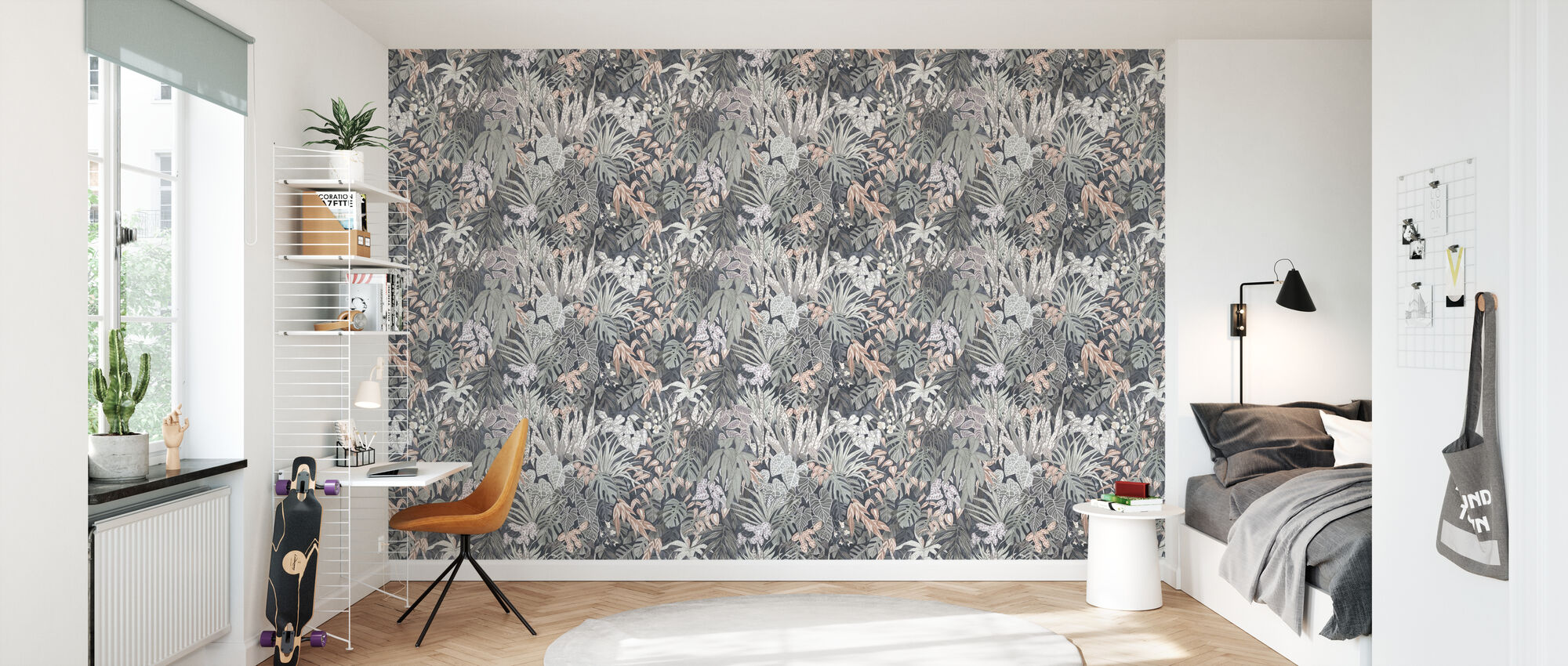 Tanglewood Forest Silver Ash - Wallpaper - Kids Room