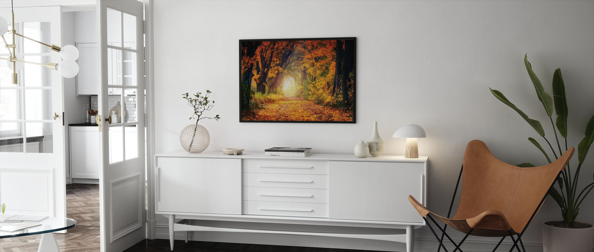 Forest Path - Poster - Living Room