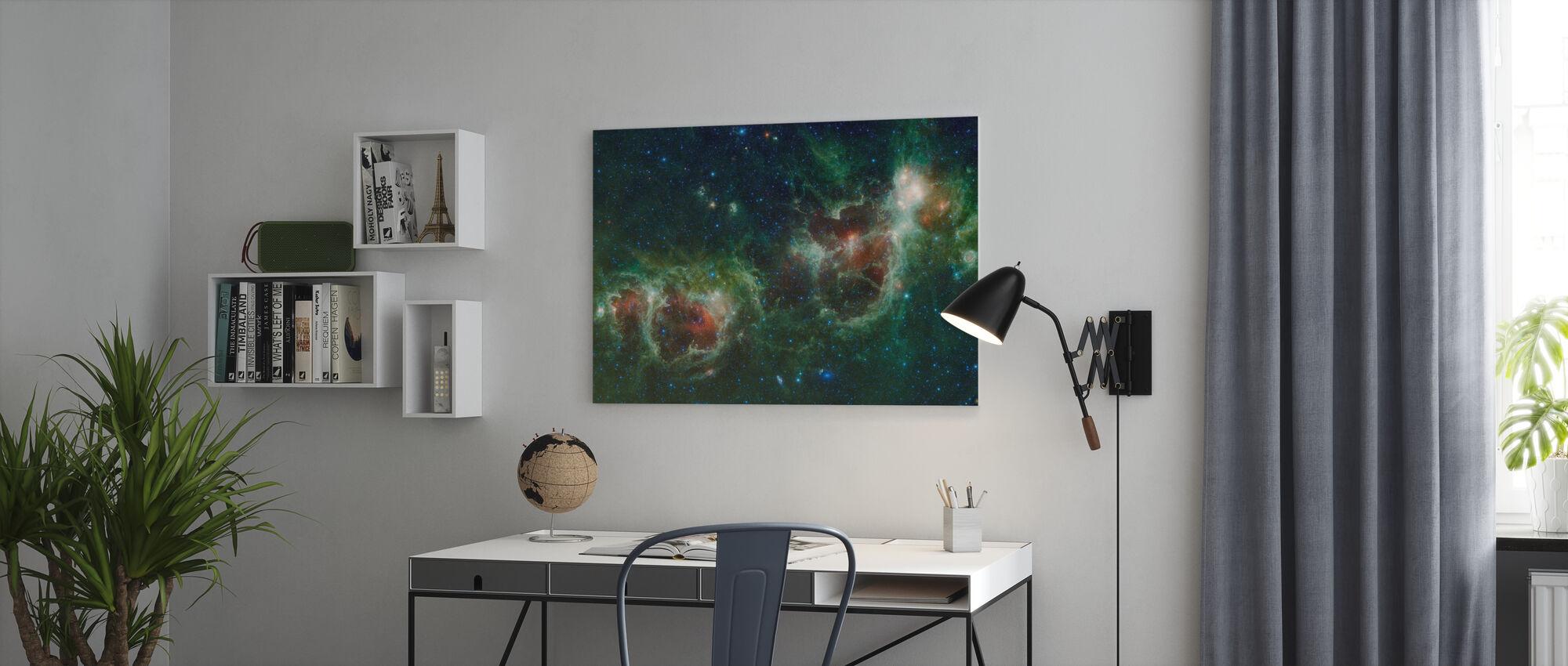Buitenruimte Kosmos - Canvas print - Kantoor