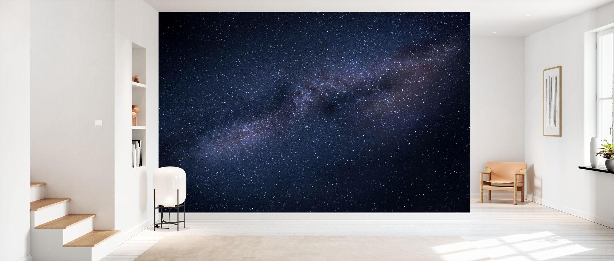 Milky Way Skyscape - Wallpaper - Hallway