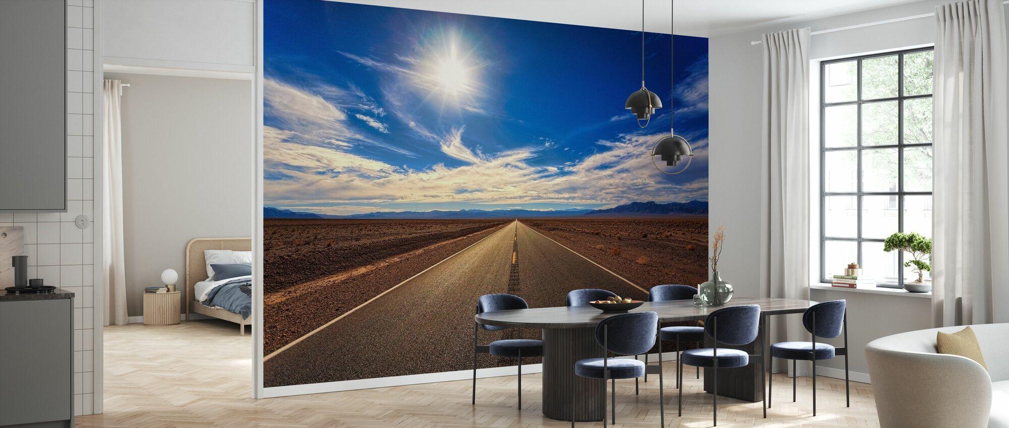 Ørkenvei - Tapet - Kjøkken