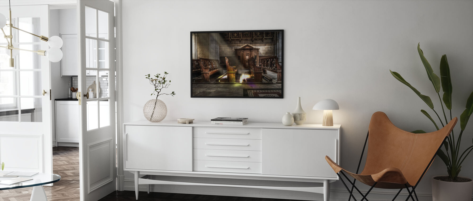 Kirke Seter - Plakat - Stue