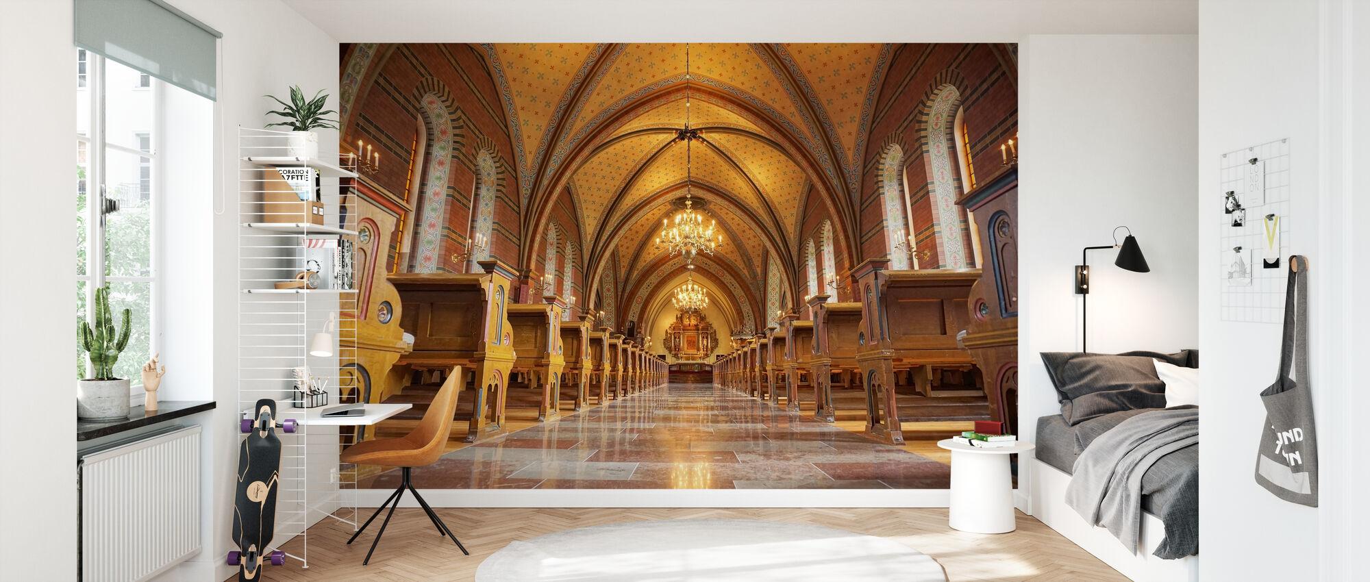 Katolinen kirkko - Tapetti - Lastenhuone