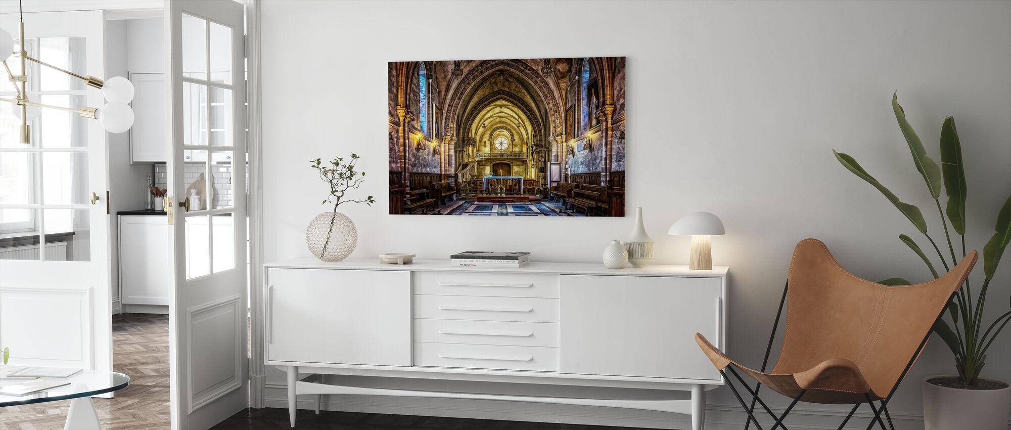 Dom Church - Canvas print - Living Room