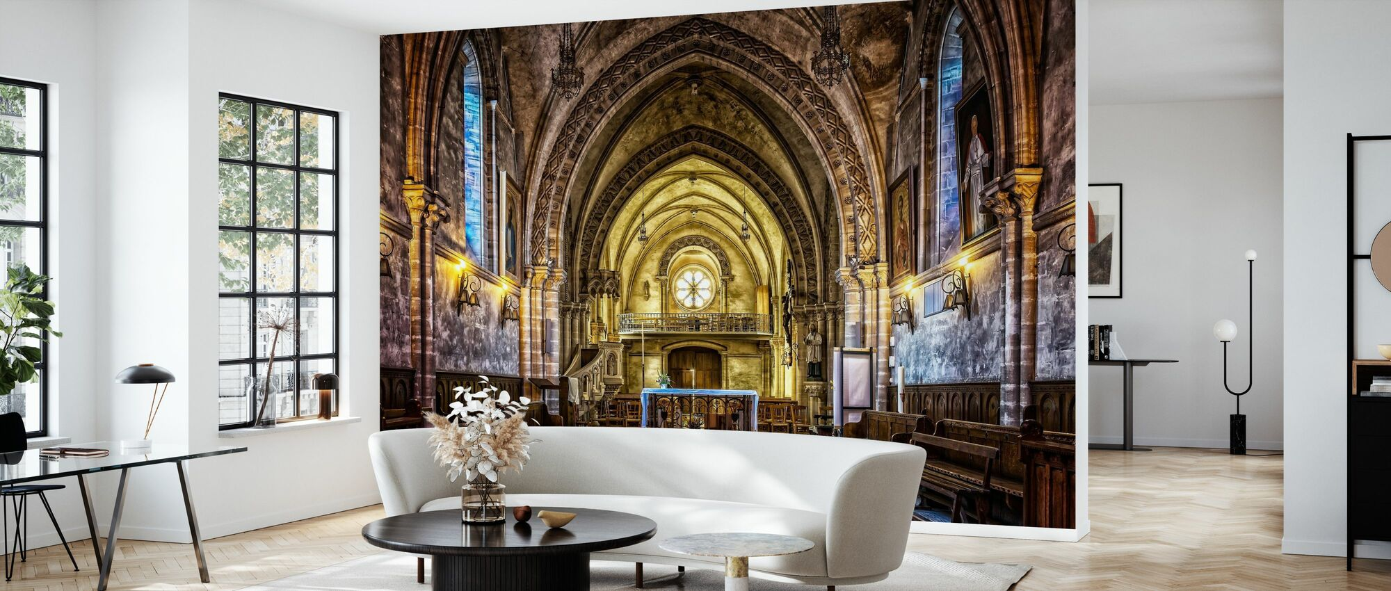Dom Church - Wallpaper - Living Room