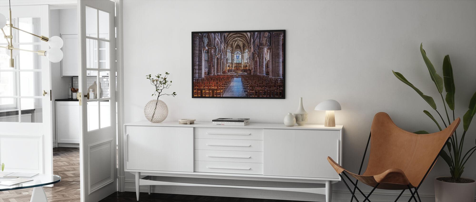 Empty Church - Poster - Living Room