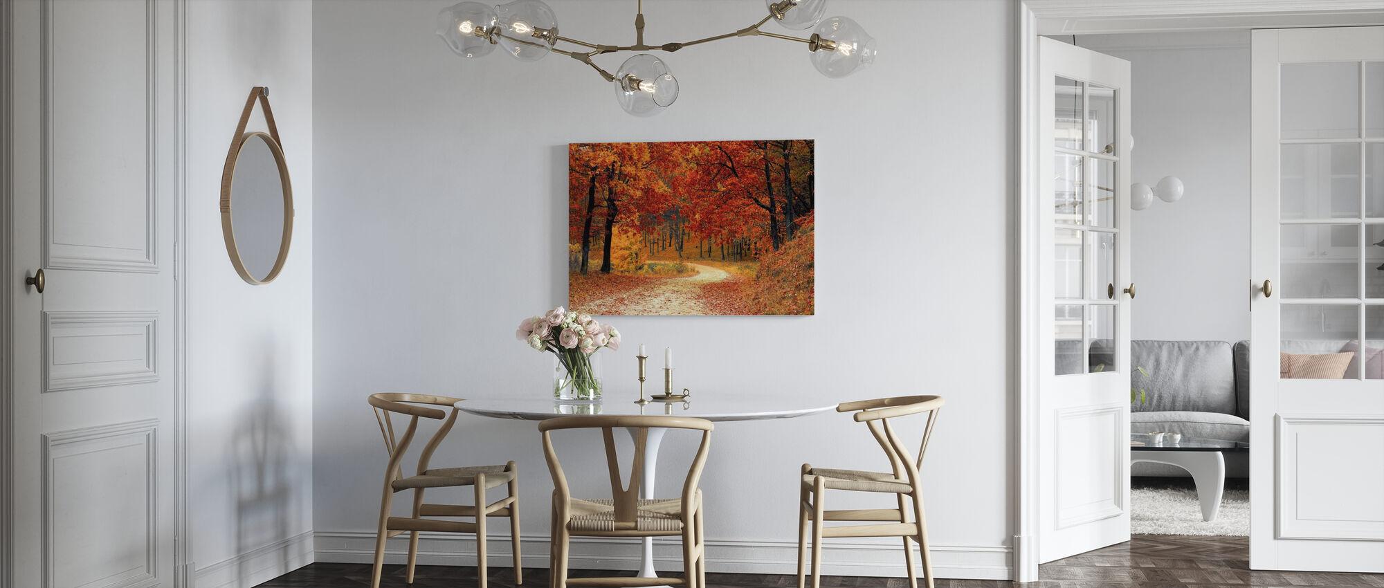 Woods Pathway - Canvas print - Kitchen