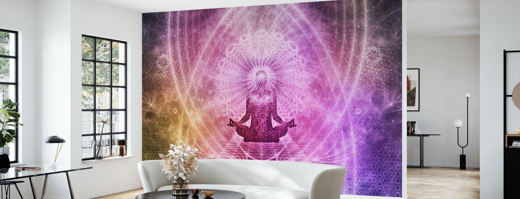 Spirituelle Meditation - Tapete - Wohnzimmer