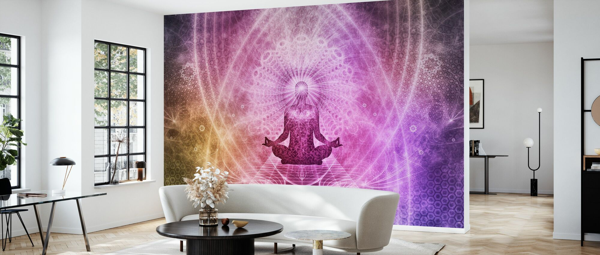 Spiritual Meditation - Wallpaper - Living Room