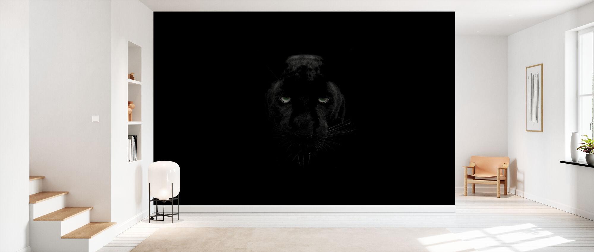 Panther monokrom - Tapet - Gang