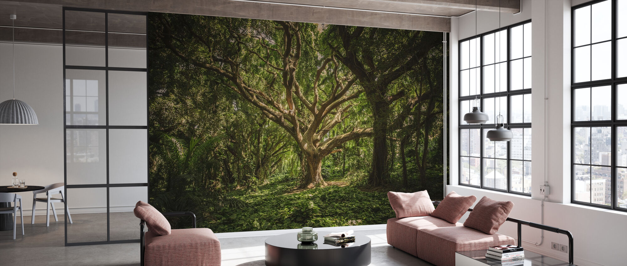 Big Tree - Wallpaper - Office