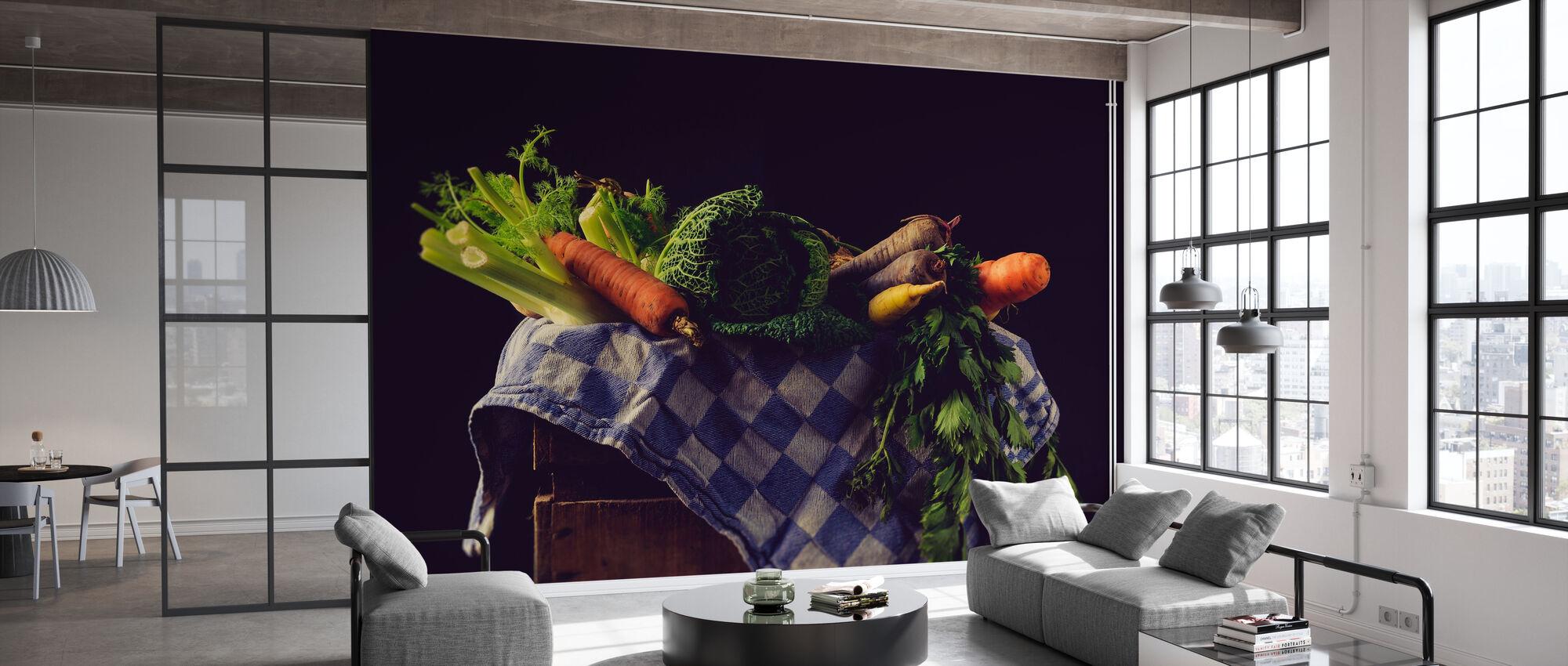 Gemüse - Tapete - Büro