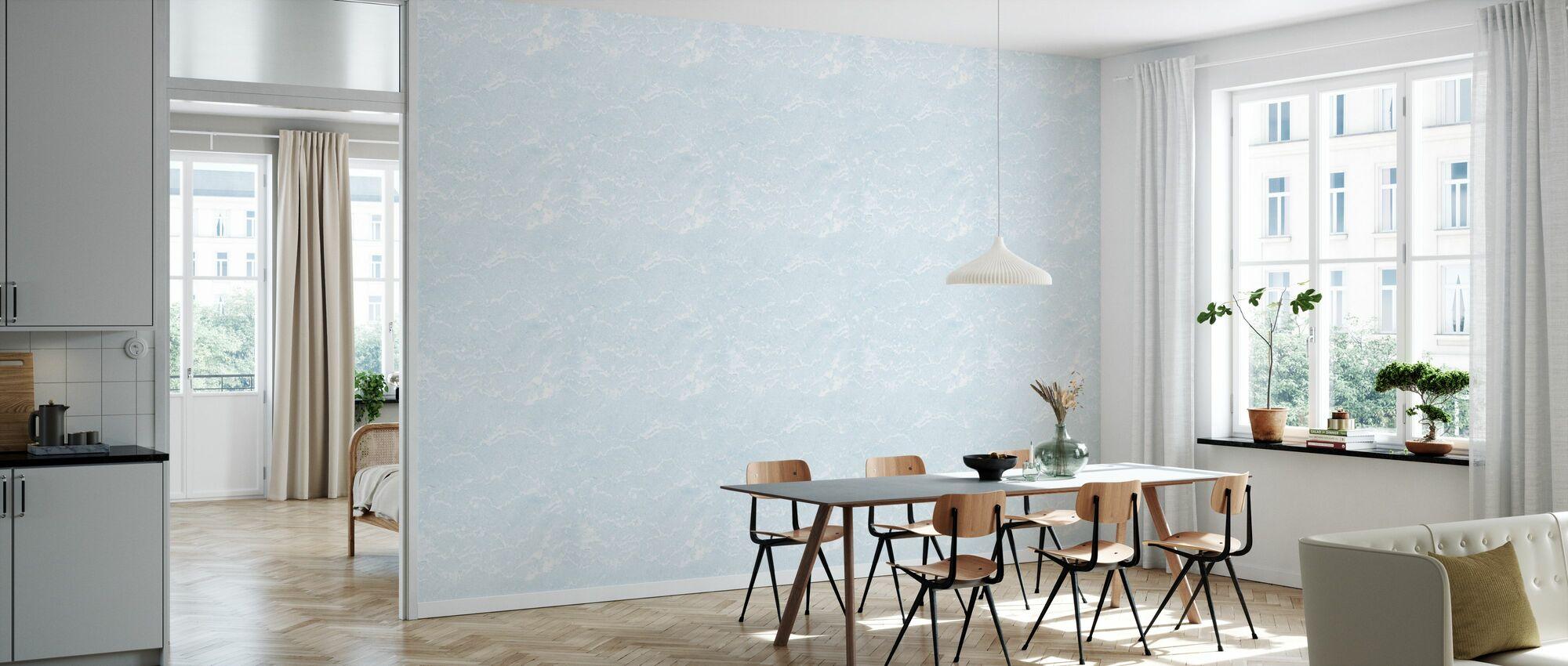 Seamless Azure Marble - Wallpaper - Kitchen